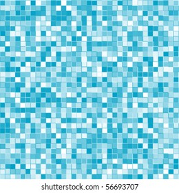 Abstract geometric vector blue squares background