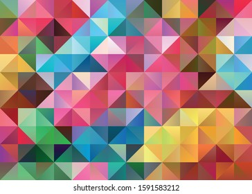 Abstract geometric vector polygon background