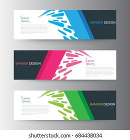 Abstract geometric vector Web banner design background, header Templates design. Sale banner template