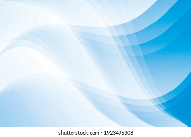 Abstract geometric white and blue color background. Vector illustration.