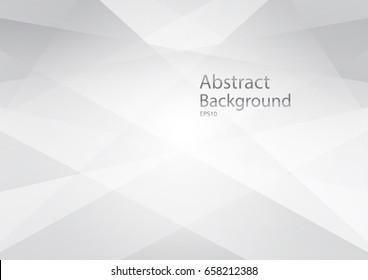 Abstract geometric white and gray Background .Technology modern , with space for design, text input,vector illustration.