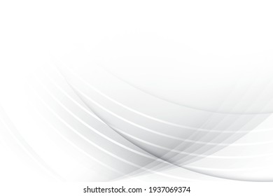 Abstract geometric white and gray color background with modern stripes. Vector illustration.