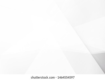 Abstract geometric white and grey color background. Technology modern design. Vector illustration.