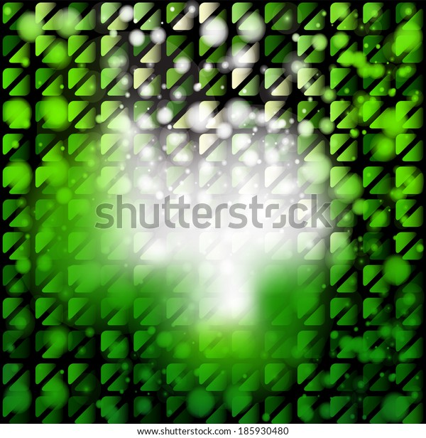 Abstract geometrical background with light effect