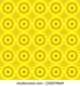 Abstract geometrical circle pattern background - vector design