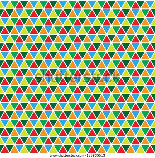 abstract geometrical seamless pattern
