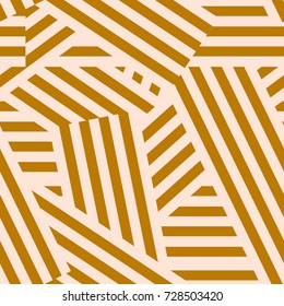 Abstract geometrical seamless pattern. Stripped background. Vector illustration.