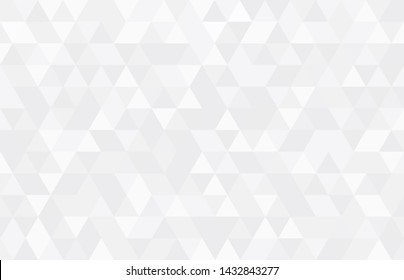 Abstract geometry  triangle  white and gray background.vector_