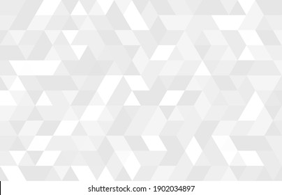 Abstract geometry  triangle  white and gray background.vector