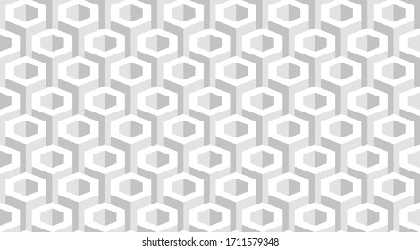 Abstract. Geometry white pattern background. Vector.