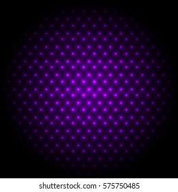 Abstract global with purple dots background, stock vector