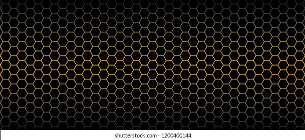 Abstract gold metal steel beehive raster background plate icon Honeycomb bees hive cells pattern sign Funny bee honey shapes vector icons for banner, card or wallpaper. Fun texture hexagon cell signs