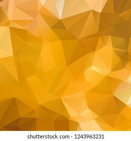 Abstract gold polygon texture background