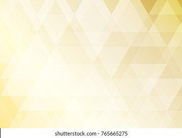 Abstract Gold triangle background , background can used for wallpaper or design , vector.