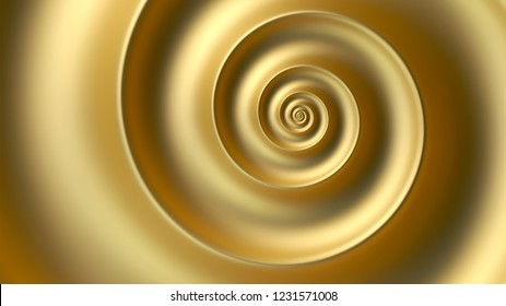 Abstract golden spiral vector background. Fibonacci spiral background.