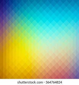 Abstract gradient art geometric background. Ideal for artistic concept works, cover designs.