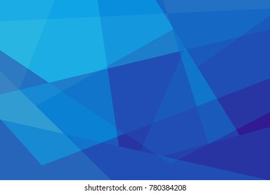 Abstract gradient background in blue