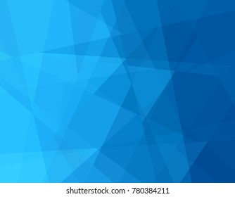 Abstract gradient background in blue from the Flat UI palette