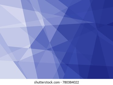Abstract gradient background in Indigo from the Material Design palette