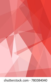 Abstract gradient background in Red from the Material Design palette