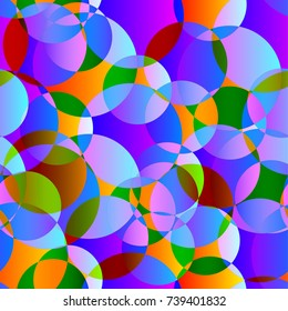 Abstract gradient colorful background. Seamless pattern. Vector illustration.