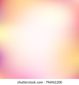 Abstract gradient colorful background vector. Soft and blur pink blending style.