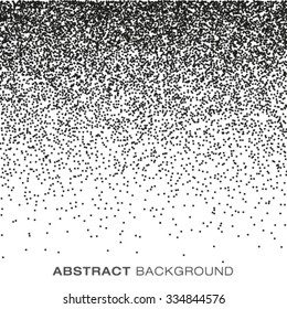 Abstract Gradient Halftone Dots Background, vector illustration