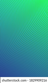 Abstract gradient poster design. Futuristic background