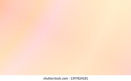 Abstract Gradient Soft Colorful Background. For Your Graphic Design, Banner. Vector Illustration