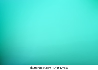 Abstract Gradient teal mint color background. Blurred pale turquoise green water backdrop. Vector illustration for your graphic design, banner, summer or aqua poster with place for text