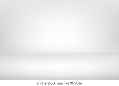 Abstract gray background used for empty spacious room interior. background or wallpaper. Vector illustration.