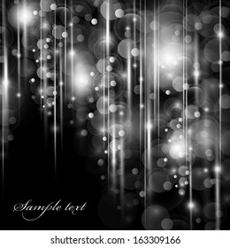 Abstract Gray Background - Vector Illustration, Graphic Design Editable For Your Design