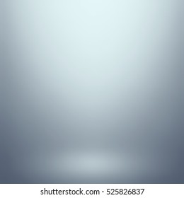 Abstract gray gradient. Used as background for product display - Vector