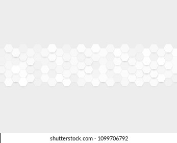abstract gray hexa pattern