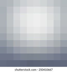 Abstract gray mosaic background - Vector