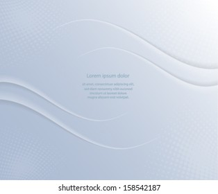 Abstract gray paper cover/ background. Vector eps10.