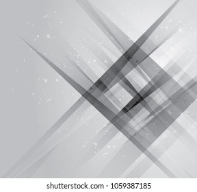 Abstract gray tech geometric corporate design background. EPS10. gray, abstract geometric background. vector illustration