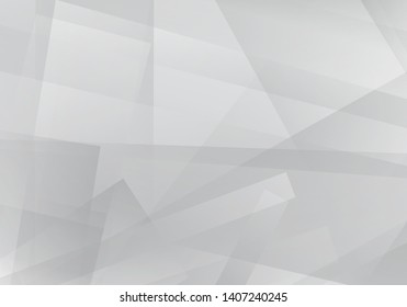 Abstract gray and white background eps 10 geometric designs for technology companies