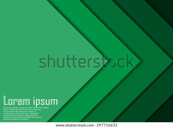 Abstract Green Arrow Line Certificate Abstract Royalty