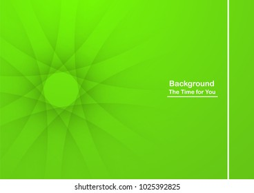 Abstract green background with copy space for white text. Modern template design for cover, brochure, web banner and magazine.
