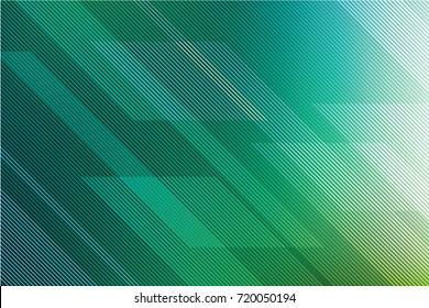 Abstract green background with diagonal lines