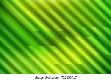 Abstract green background with lines