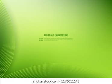 abstract green background. modern design. creative template.