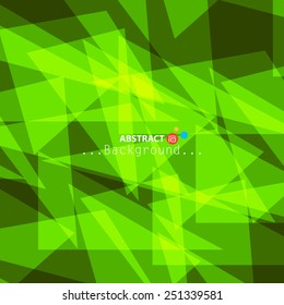 Abstract green color with vector background....
