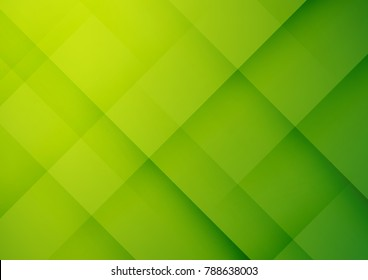 Abstract green geometric vector background, can be used for cover design, poster, advertising.