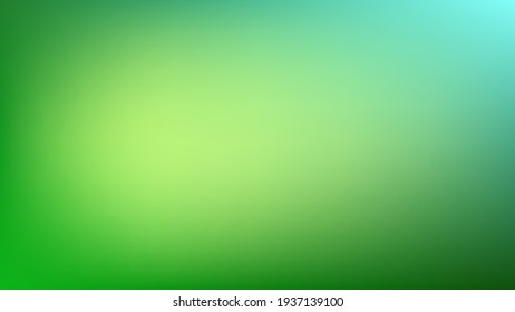 abstract green gradient color background with blank smooth and blurred multicolored style for website banner and paper card decorative graphic design. vector illustration