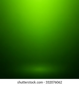 Abstract green gradient. Used as background for product display.
