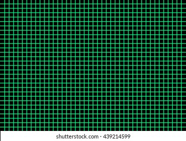 Abstract green grid neon style
