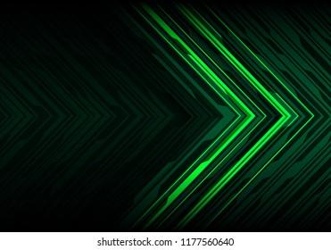 700 Wallpaper Black N Green HD