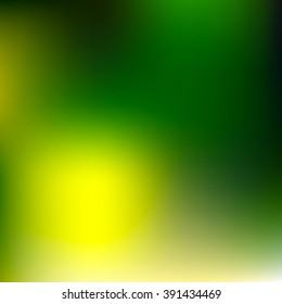 Abstract green and yellow vector background, color mesh gradient, vector design wallpaper